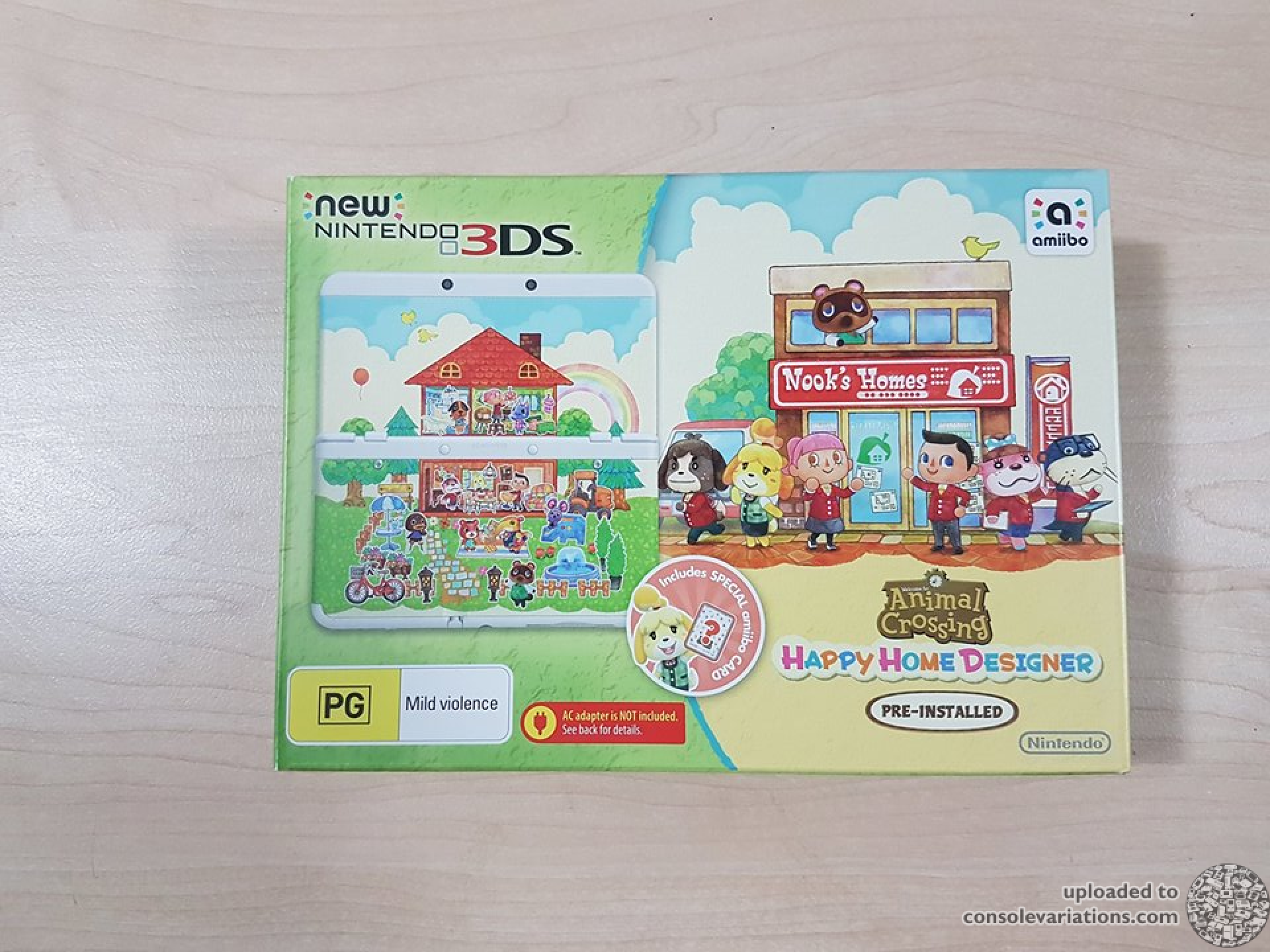 Cv New Nintendo 3ds Animal Crossing Happy Home Designer Console Aus
