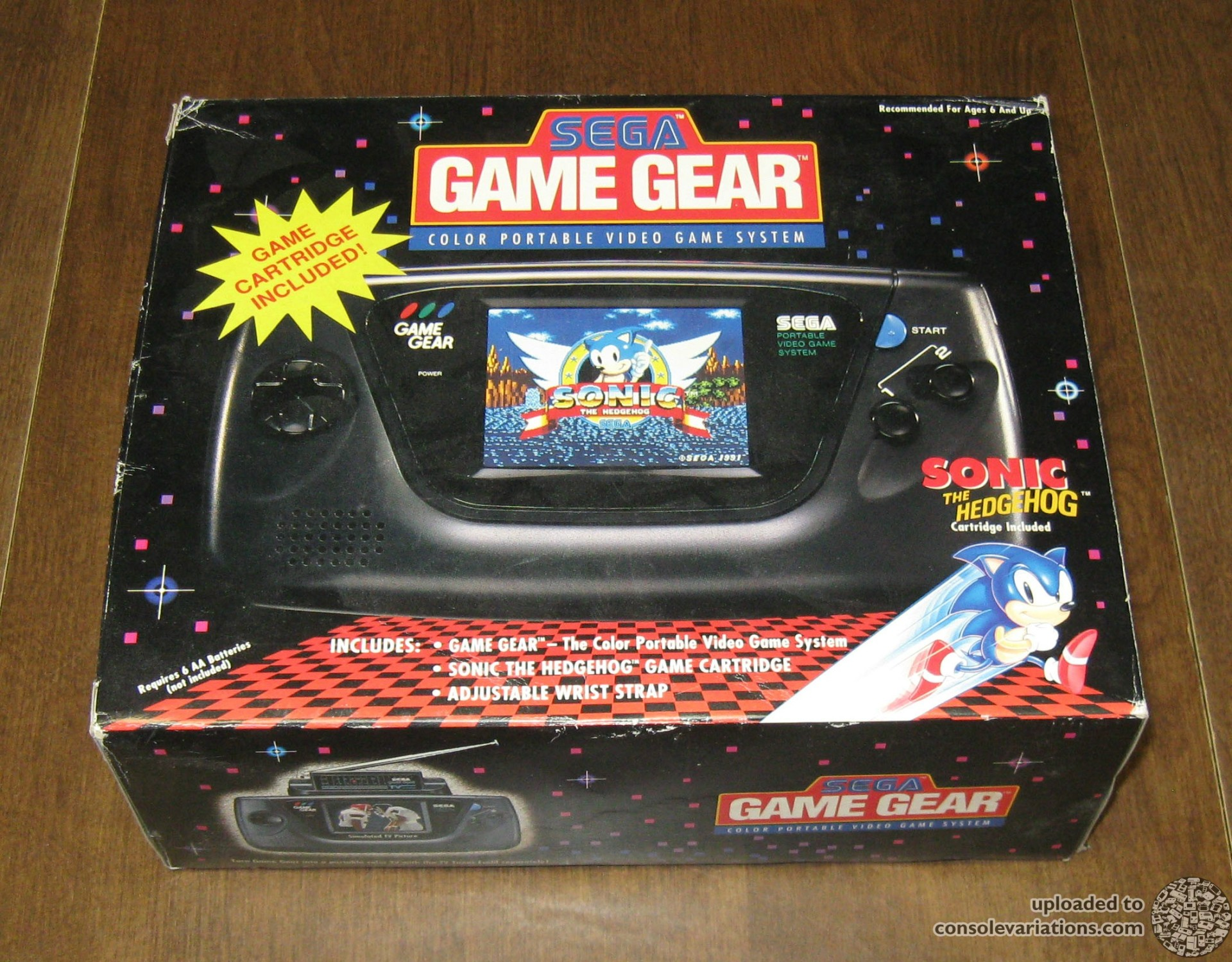 Cv Sega Game Gear Sonic The Hedgehog Sticker Bundle Us